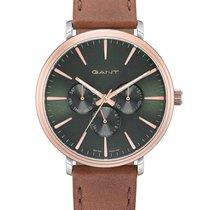 Gant Aço 42mm Quartzo GTAD05600499I novo