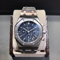 Audemars Piguet Royal Oak Chronograph Steel 39mm Blue No numerals