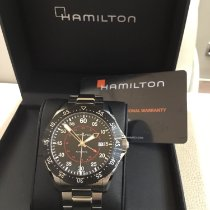 Hamilton Steel 44mm Automatic H76755135 new