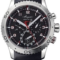 Breguet Type XX - XXI - XXII Steel 44mm Black Arabic numerals