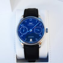 IWC Portuguese Automatic Steel 42mm Blue Arabic numerals United States of America, California, Newport Beach