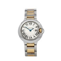 Cartier Ballon Bleu 28mm Gold/Steel 28mm White Roman numerals United Kingdom, Bishop's Stortford
