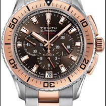 Zenith El Primero Stratos Flyback Gold/Steel Brown United States of America, Florida, Miami
