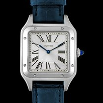 Cartier Santos Dumont new Quartz Watch with original box and original papers WSSA0022