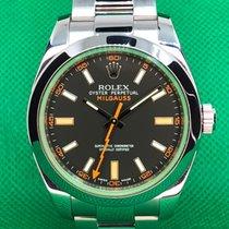 Rolex Milgauss Steel 40mm Green No numerals United States of America, New York, Troy