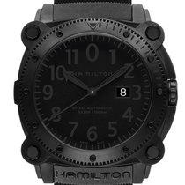 Hamilton Khaki Navy BeLOWZERO Acier 46mm Noir