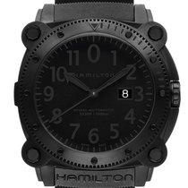 Hamilton Khaki Navy BeLOWZERO Zeljezo 46mm Crn