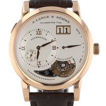 A. Lange & Söhne Lange 1 Rose gold 38.5mm Silver Roman numerals United States of America, New Hampshire, Nashua