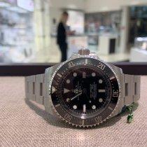 Rolex Керамика Автоподзавод Чёрный Без цифр 44mm новые Sea-Dweller Deepsea