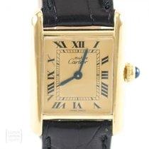 Cartier Tank Vermeil Silver 20mm Gold