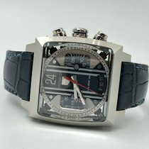 TAG Heuer pre-owned Automatic 40.5mm Blue Sapphire crystal