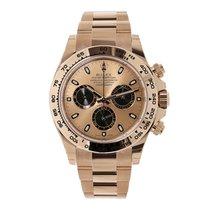 Rolex Daytona 18K Everose Gold Watch Pink Dial