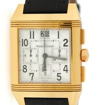 Jaeger-LeCoultre Reverso Squadra Chronograph GMT Yellow gold 35mmmm United States of America, New York, New York