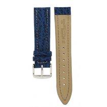 Hirsch Chrono Shark Blue Leather 20mm
