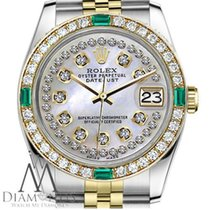 Rolex Lady-Datejust Acero y oro 26mm Madreperla