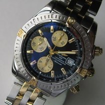 Breitling Chronomat Evolution B13356 18k Gold & Steel