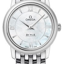 Omega Steel 27.4mm Quartz De Ville Prestige new