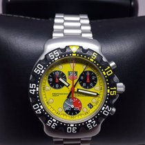 TAG Heuer Formula One F1 Chronograph FIA Yellow dial CA1213.BA...