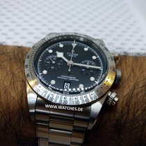 Tudor Heritage Black Bay Chronograph Steel Automatic - 79350