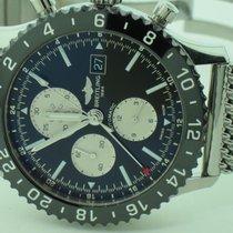 Breitling Chronoliner Steel 46mm Black No numerals United States of America, New York, Greenvale