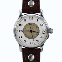 Longines Steel Manual winding 46mm pre-owned Lindbergh Hour Angle