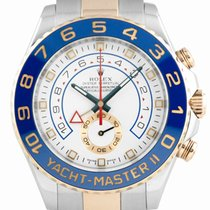 Rolex Chronograph 44mm Automatic 2011 pre-owned Yacht-Master II White