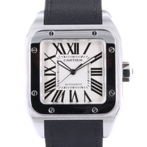 Cartier Santos 100 tweedehands 38mm Staal