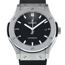 Hublot Classic Fusion 45, 42, 38, 33 mm pre-owned 45mm Steel