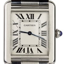 Cartier 3170 Stahl Tank Solo 22mm