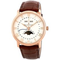 Blancpain Villeret Quantième Complet Rose gold 40mm White Roman numerals United States of America, New York, New York