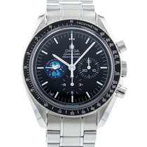 Omega 42mm Manual winding 2010 pre-owned Speedmaster (Submodel) Black