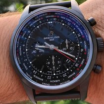 Breitling Transocean Unitime Pilot Steel 46mm Black United States of America, Texas, Plano