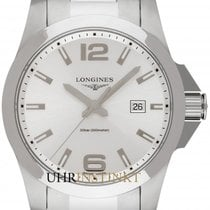 Longines L3.760.4.76.6 Steel 2019 Conquest 43mm new