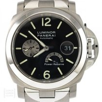 Panerai Luminor Power Reserve occasion 44mm Noir Date Double plis