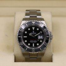 Rolex Sea-Dweller Stål 43mm Rød Ingen tall