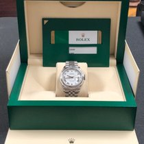 Rolex Datejust Steel 36mm White No numerals United States of America, New York, New York