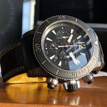 Jaeger-LeCoultre Master Compressor Diving Chronograph GMT Navy SEALs Titanium 46mm Black Arabic numerals