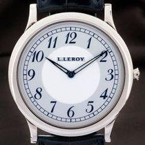 L.Leroy Or blanc 40mm Remontage manuel 31 KA 0046 occasion