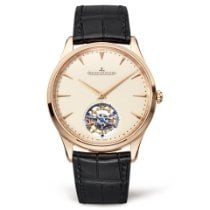 Jaeger-LeCoultre Master Ultra Thin Tourbillion Rose gold 40mm White No numerals United States of America, New York, NEW YORK