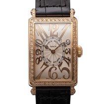 フランク・ミュラー (Franck Muller) Long Island Pink Gold Diamond 902 QZ...