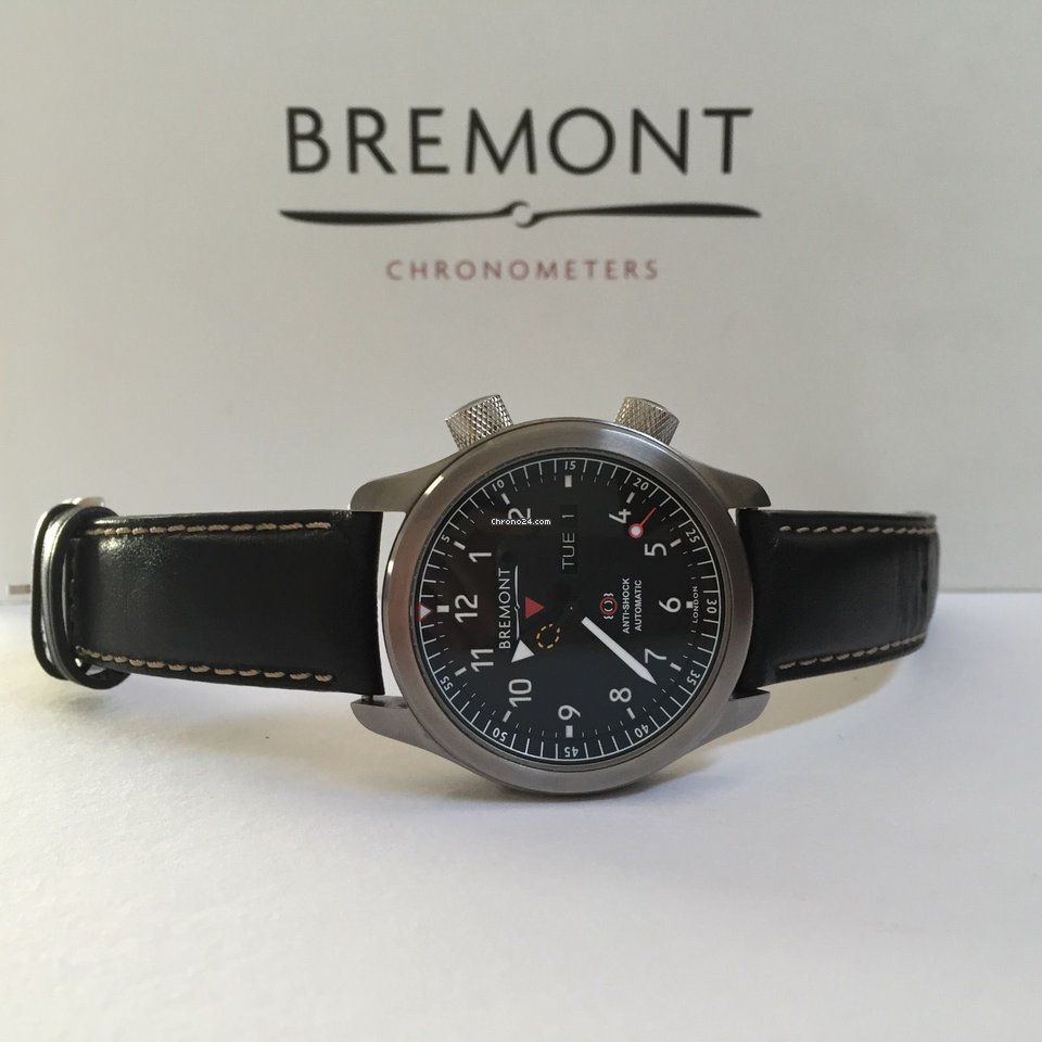Bremont Martin Baker Mbii Anthracite Grey Mbii An For Rp