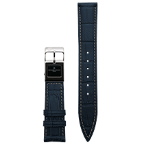 Frederique Constant E-Strap Navy Stainless Steel 22mm