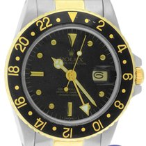 Rolex GMT-Master 16753 Black 'Nipple Dial' Oyster...