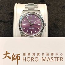 劳力士  (Rolex) Horomaster-Oyster Perpetual Red Grape Purple...