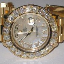 Rolex Day-Date II President 18K Solid Yellow Gold Diamonds