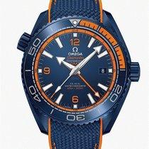 Omega Seamaster Planet Ocean neu 2020 Automatik Uhr mit Original-Box und Original-Papieren 215.92.46.22.03.001