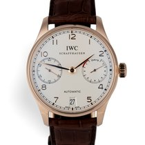 IWC IW500701 Portugieser 7-Day - Red Gold 42mm Full Set