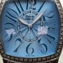 JeanRichard Daniel/ Blue dial/ 36 mm/ Diamonds/ steel