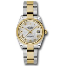 Rolex Lady-Datejust Gold/Steel 31mm Mother of pearl Roman numerals United States of America, Pennsylvania, Holland