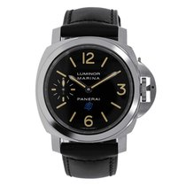 Panerai 44mm Manual winding new Luminor Marina Black